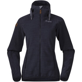 Bergans W's Hareid Fleece Jacket Dark Navy Melange